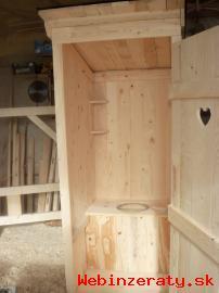 Latrina suche wc doprava po Slovensku